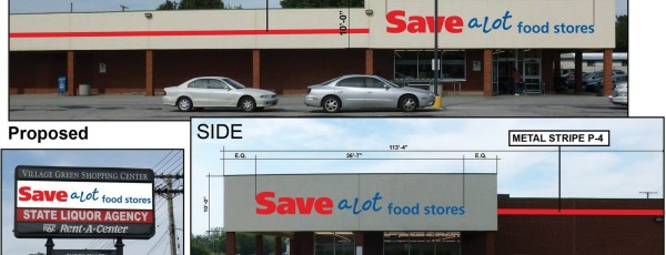 NEW TENANTS COMING TO VILLAGE GREEN SHOPPING CENTER; SAVE-A-LOT, THREE ADDITIONAL LEASES SIGNED