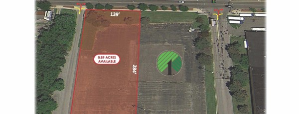 0.89-Acre Outlot Available