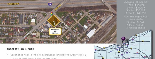 I-71 Interchange Parcel For Lease